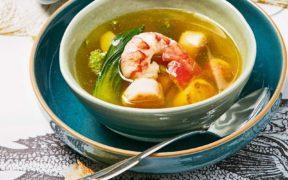Rezepte, Royal, Fisch, Suppe, einfach, Gesund, Health,