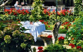 Oesterreich, Weingut Loibnerhof, Restaurant, Wachau,