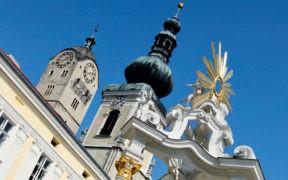 Krems, Oesterreich, Niederoesterreich, Donau