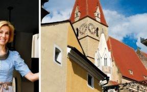 Wachau, Kirchenwirt, Restaurant, Hotel, Weissenkirchen, Oesterreich