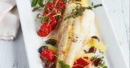 Rezept, Seeteufel, Gemuese, Tomaten, Gesund, Oliven, Health, Mediterran, Limetten