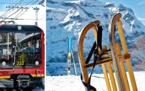 Wengen, Wintermaerchen, Eiger, Moench, Jungfrau, Berner Oberland, Skiparadies