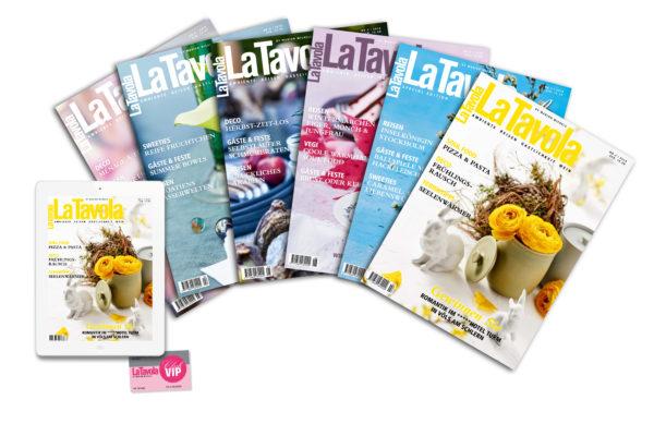 La Tavola, Magazin, Abo, Heft, Lifestyle, Luxus, Reisen, Ambiente, Gastlichkeit, Wein