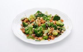 Rezept, Brokkoli, Tomaten, Knoblauch, Croutons,