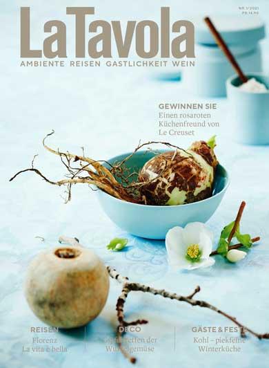 GzD_LaTavola_Magazin_2021-01_00_US1-US4_Umschlag_Cover